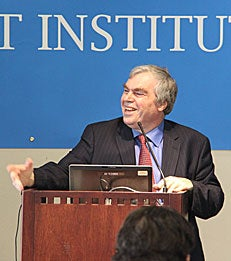 Executive Director of the NET Institute Nicholas Economides at the 2012 NET Inst