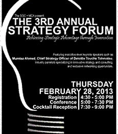 Strategy and Operations Club (SOC) Third Annual Strategy Forum
