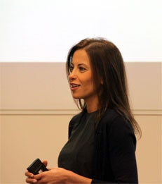 Dina Powell Speaks at MBA Block Lunch