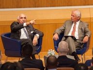Kenneth Langone Speaks to Langone MBA Students at Inaugural Speaker Series Event