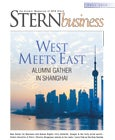 STERNbusiness Fall 2013: West Meets East