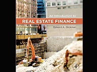 Cover of An Introduction to Real Estate Finance