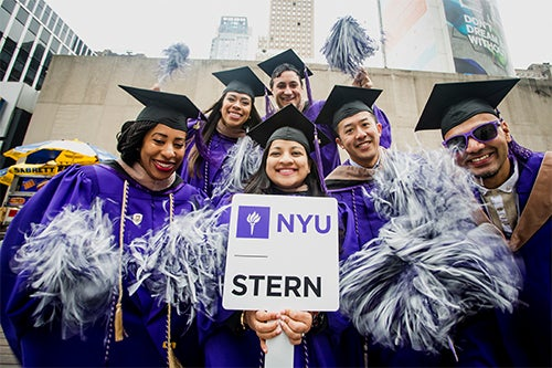 NYU Stern graduates