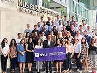 NYU Stern MBA Students of the DBi Singapore Course