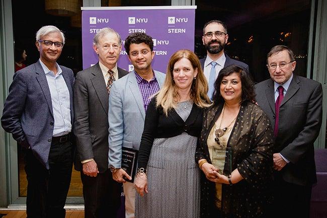 Raghu Sundaram, Richard Levich, Anindya Ghose, Mor Armony, Maher Said, Geeta Menon and Paul Wachtel