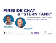 """Fireside Chat and """"Stern Tank"""" with Mark Cuban"""