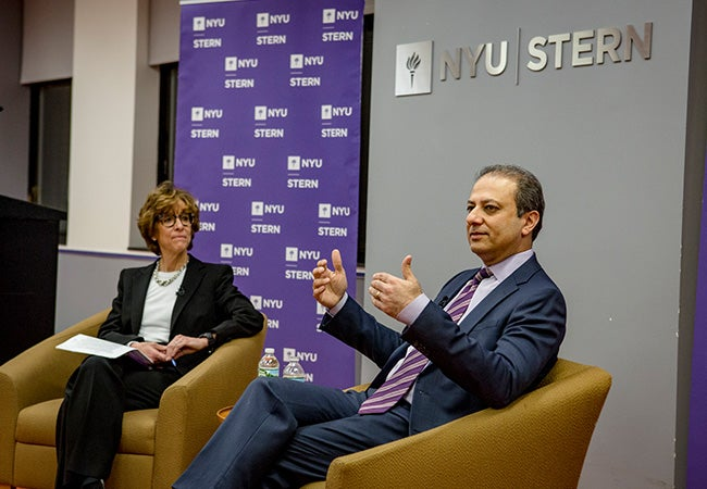 Past Event | Preet Bharara, Former US Attorney for the Southern