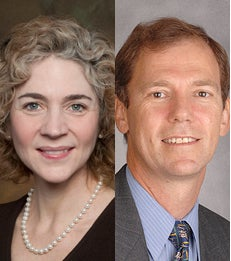 Professors Jennifer Carpenter and Robert Whitelaw