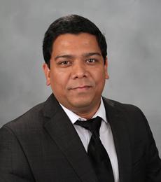 A headshot of Nilanjan Mitra Thakur
