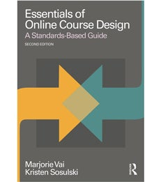 Cover of Essentials of Online Course Design