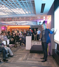 NYU Stern W. R. Berkley Innovation Labs Celebrate Open House article