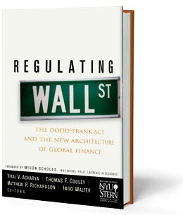 Regulating Wall Street book cover