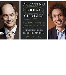 Event | Author Lecture Series | Roger Martin & Malcolm Gladwell article