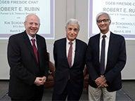 Kim Schoenholtz, Robert Rubin and Raghu Sundaram