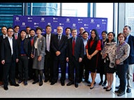 Group at NYU Shanghai and NYU Stern event