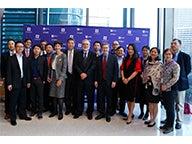 Group at NYU Shanghai and NYU Stern event