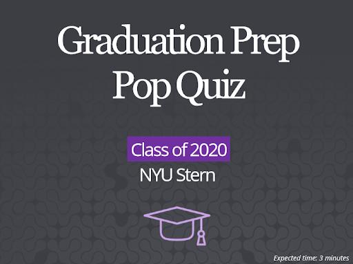 Senior pop quiz