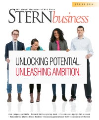 STERNbusiness Spring 2014: Unlocking Potential. Unleashing Ambition. 200x244