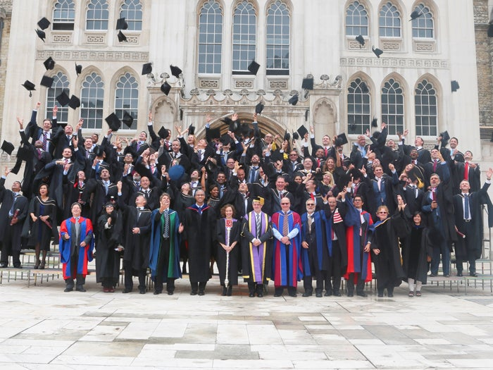 Tales in Possible | Congratulate Possible | TRIUM Graduation 2015