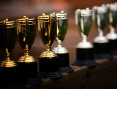 Faculty Awards & Accolades trophy article