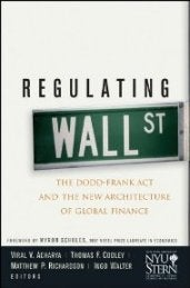 Regulating Wall Street 171x259 photo