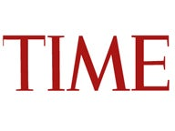time magazine logo feature