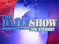 daily show logo feature