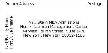 nyu part time mba essay tips