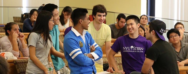 Undergraduate students at NYU Stern