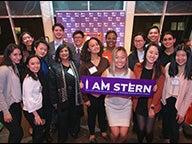 Students at the 2018 Undergraduate Scholarship Reception