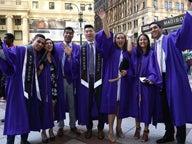 NYU Stern undergraduate students