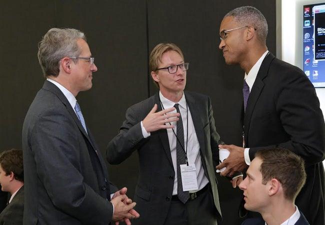 Peter Henry, Professor Stijn Van Nieuwerburgh, James Stolpestad II