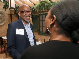 Gary Fraser at an alumni event in June 2019