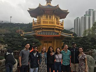 ISP students in Hong Kong