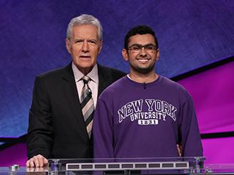 Mohan Maholtra (BS '20) Competes on Jeopardy