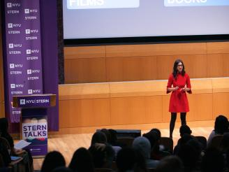 NYU Stern Alumni Trisha Goyal Speaks at SternTalks 2017 (v2)