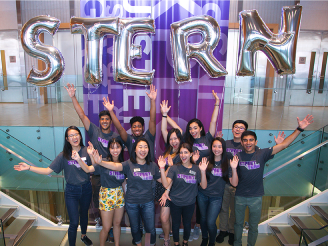 NYU Stern Open House Street Team