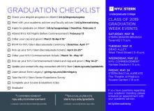 Graduation 2019 Checklist Thumbnail