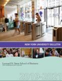 Cover of 2019-2021 Academic Bulletin