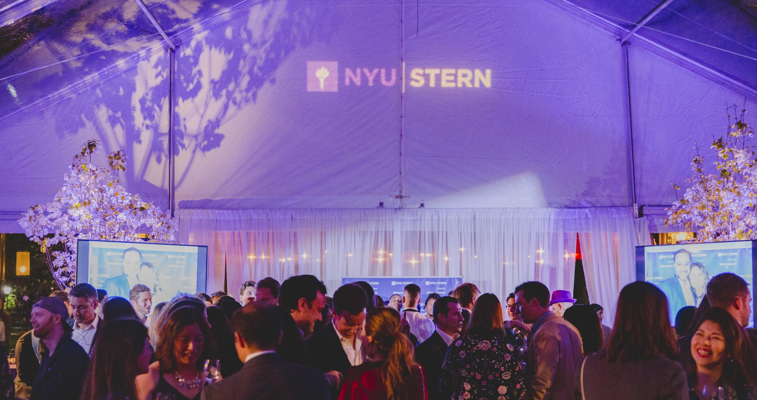 Tent during Stern Reunion