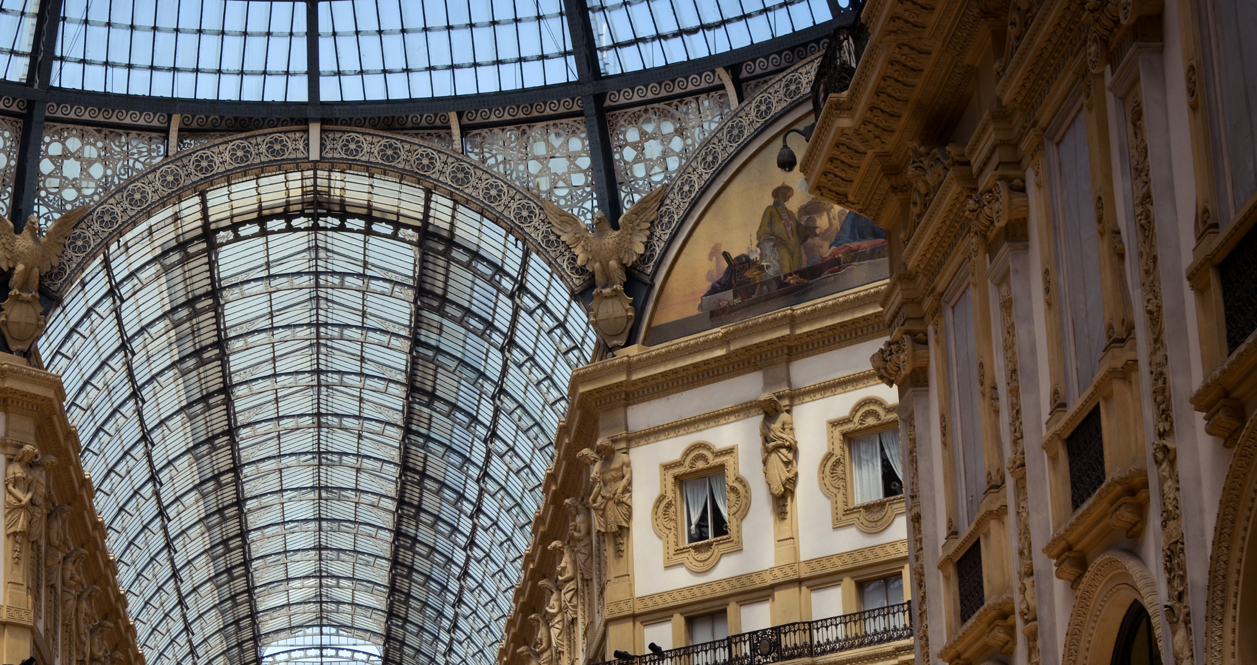 An architectural feature in Milan