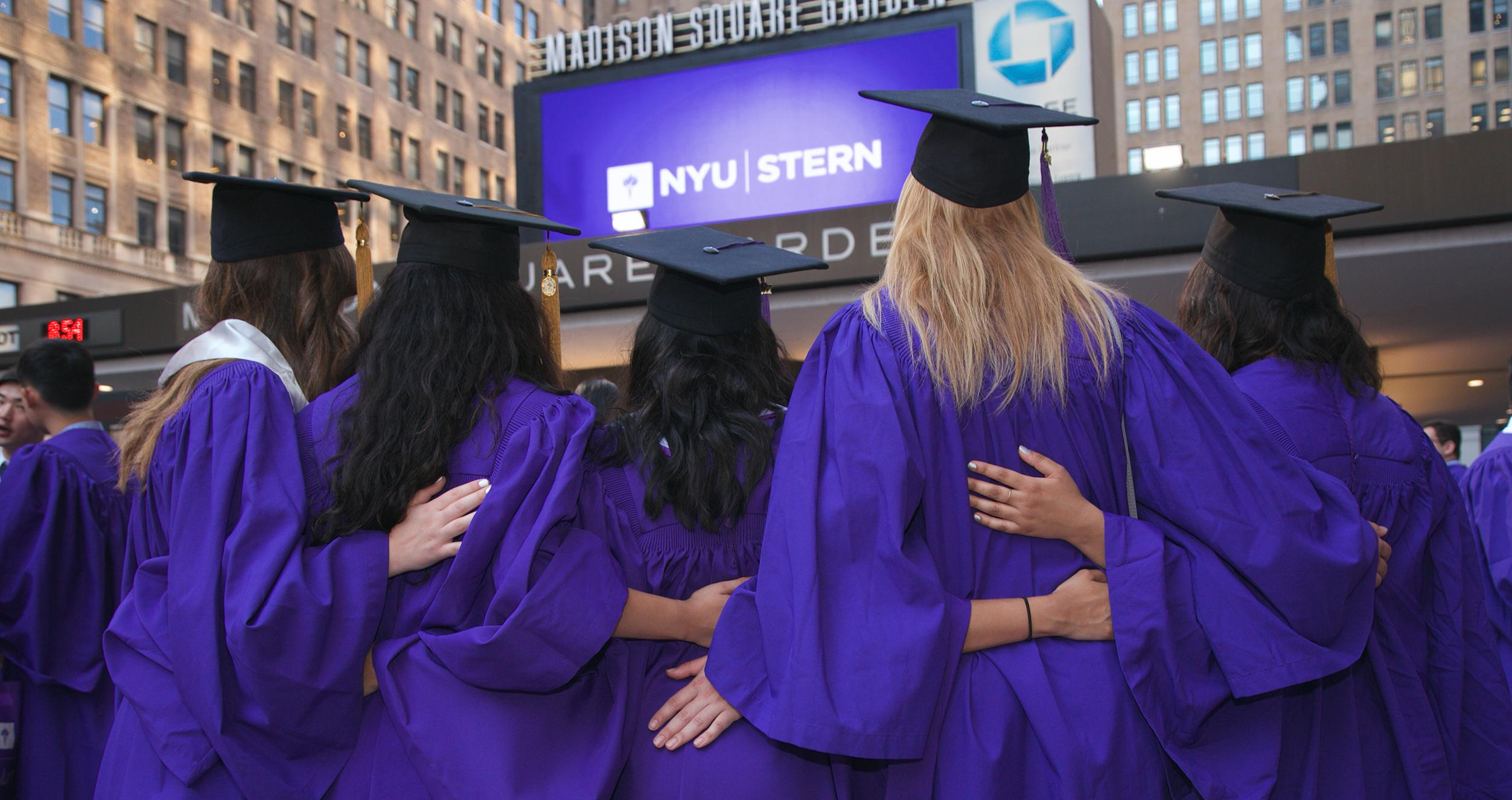 A group of Stern graduates