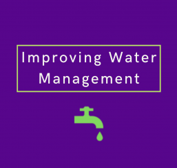 Water management infographic