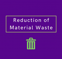 material waste infographic