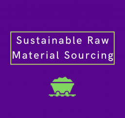 material sourcing infographic