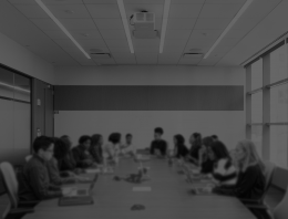 People in a board room