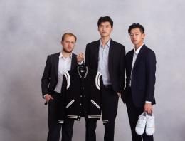 This is a photo of three male founders