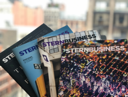 Copies of SternBusiness Magazine
