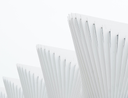 abstract white triangles with lines