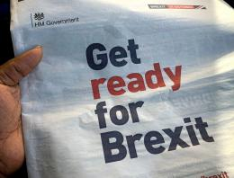 brexit front page of newspaper